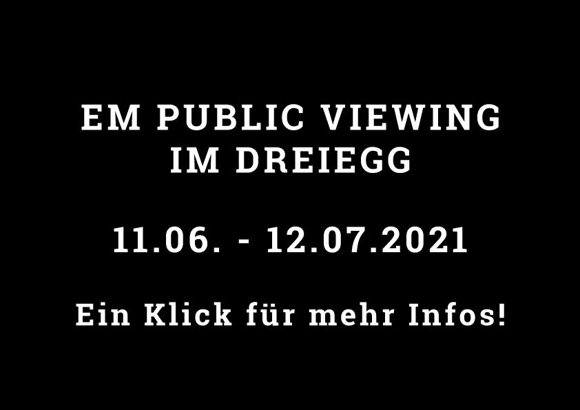 Dreiegg, Fussball EM Public Viewing